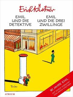 Emil und die Detektive & Emil und die drei Zwillinge - Kästner, Erich