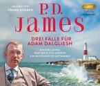 Drei Fälle für Adam Dalgliesh, 3 MP3-CD