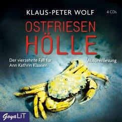 Ostfriesenhölle / Ann Kathrin Klaasen ermittelt Bd.14 (4 Audio-CDs) - Wolf, Klaus-Peter