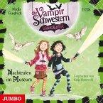 Nachteulen im Museum / Die Vampirschwestern black & pink Bd.6 (2 Audio-CDs)