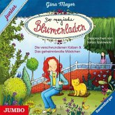 Der magische Blumenladen. junior, 1 Audio-CD