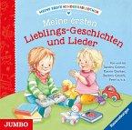 Meine erste Kinderbibliothek - Meine ersten Lieblings-Geschichten und Lieder, 1 Audio-CD