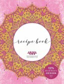 Recipe Book: 8.5x11 Large Mandala Cooking Journal for Favorite Family Recipes with Hand Drawn Illustrations and Layout
