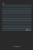 Sea Notizbuch: Segeln, Surfen & Tauchen Notizbuch Geschenk für Segler, Segel Fans, Segelsport Liebhaber und Abenteurer, Frauen und Mä