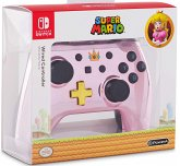 PowerA Wired Controller, Super Mario, Chrome Pink Peach, für Nintendo Switch