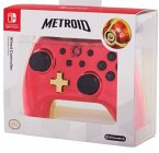 PowerA Wired Controller, Chrome Red Samus, für Nintendo Switch