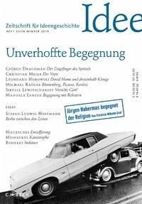 Zeitschrift für Ideengeschichte Heft XIII/4 Winter 2019
