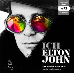 Ich: Die Autobiografie, 1 MP3-CD - John, Elton; Petridis, Alexis