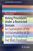 Voting Procedures Under a Restricted Domain (eBook, PDF)