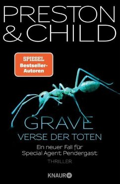 Grave - Verse der Toten / Pendergast Bd.18 (eBook, ePUB) - Preston, Douglas; Child, Lincoln
