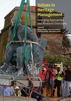 Values in Heritage Management: Emerging Approaches and Research Directions