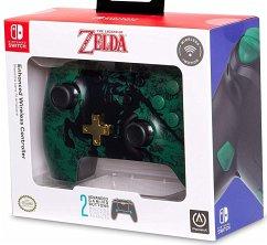 PowerA Enhanced Wireless Controller, Zelda-Design, für Nintendo Switch