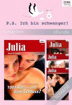 P.S. Ich bin schwanger! (4-teilige Serie) (eBook, ePUB) - Stephens, Susan; Oliver, Anne; Hunter, Kelly; Cleary, Anna
