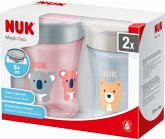 "2er-Pack Nuk Magic Cup ""Girl"", 230 ml, ab 8 Monate"