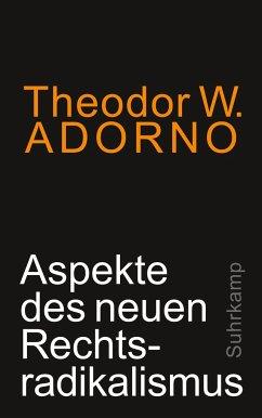 Aspekte des neuen Rechtsradikalismus - Adorno, Theodor W.