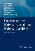 Kompendium der Wirtschaftstheorie und Wirtschaftspolitik III (eBook, PDF)