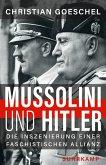 Mussolini und Hitler (eBook, ePUB)