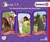 Schleich Horse Club Hörspielbox, 3 Audio-CD