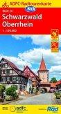ADFC-Radtourenkarte Schwarzwald Oberrhein