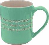 Astrid Lindgren-Helden. Becher Tasse grün