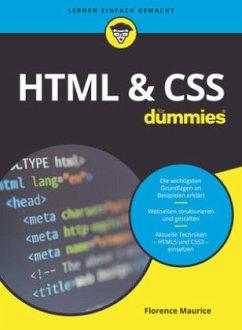 HTML & CSS für Dummies - Maurice, Florence