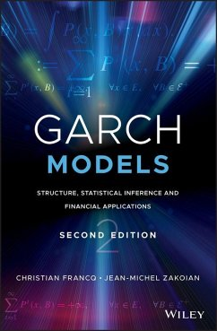 GARCH Models (eBook, ePUB) - Francq, Christian; Zakoian, Jean-Michel