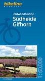 Radwanderkarte Südheide Gifhorn