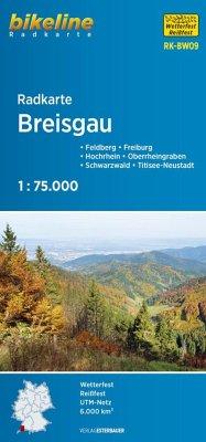 Radkarte Breisgau (RK-BW09)