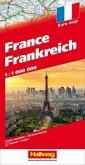 Frankreich Strassenkarte 1:1 Mio.