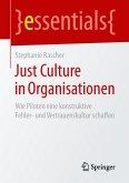 Just Culture in Organisationen (eBook, PDF)