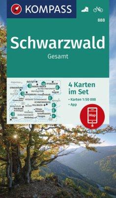 KV WK 888 Schwarzwald Gesamt (4-K-Set) 50T