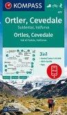 KOMPASS Wanderkarte Ortler, Cevedale, Suldental, Valfurva / Ortles, Cevedale, Val di Solda, Valfurva