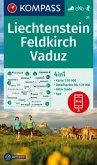 KOMPASS Wanderkarte Liechstenstein, Feldkirch, Vaduz