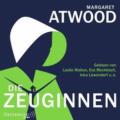 Die Zeuginnen, 2 MP3-CD - Atwood, Margaret