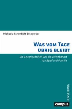 Was vom Tage übrig bleibt - Schonhöft-Dickgreber, Michaela