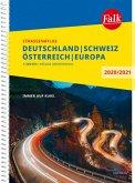 Falk Straßenatlas Deutschland, Schweiz, Österreich, Europa 2020/2021