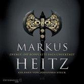 Zwerge - Die komplette Saga ungekürzt / Die Zwerge Bd.1-5 (19 MP3-CDs)