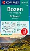 KOMPASS Wanderkarte Bozen und Umgebung, Bolzano e dintorni