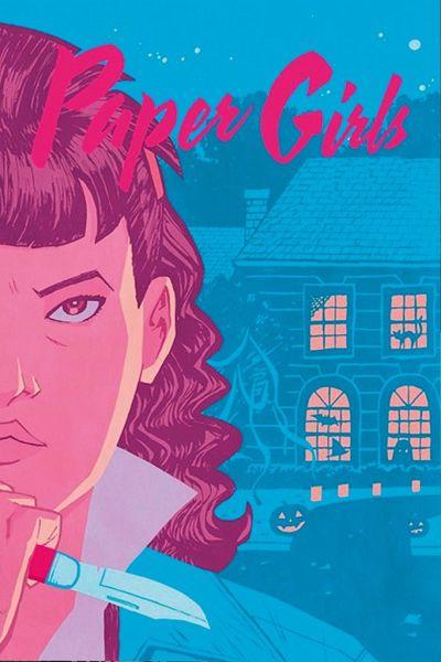 Buch-Reihe Paper Girls