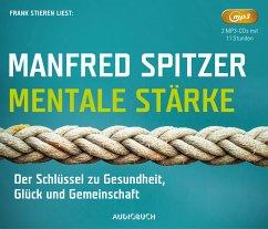 Mentale Stärke, 2 MP3-CDs - Spitzer, Manfred