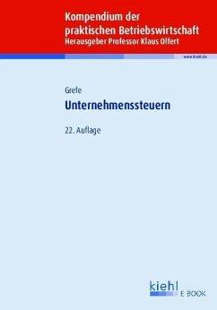 Unternehmenssteuern (eBook, PDF) - Grefe, Cord