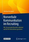 Nonverbale Kommunikation im Recruiting (eBook, PDF)