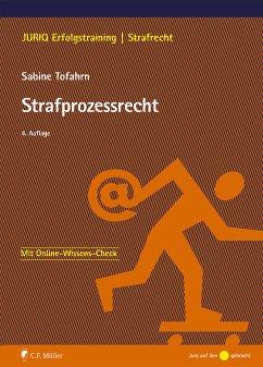 Strafprozessrecht (eBook, ePUB) - Tofahrn, Sabine