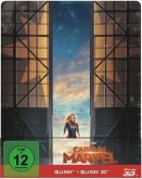 Captain Marvel (Blu-ray 3D + Blu-ray, Steelbook Edition)