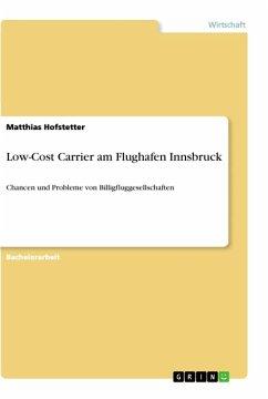 Low-Cost Carrier am Flughafen Innsbruck