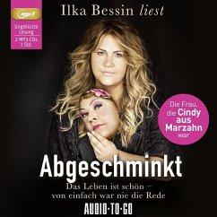 Abgeschminkt, 2 MP3-CDs - Bessin, Ilka