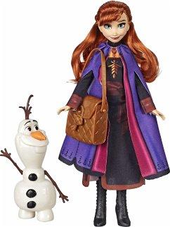 Hasbro E6661ES0 - Disney Frozen II Anna und Olaf, Puppe, Figuren