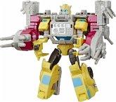 Hasbro E4329ES0 Transformers Spielzeuge Cyberverse Spark Armor Bumblebee Actio