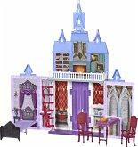 Hasbro E5511EU4 - Disney, Frozen 2, Arendelle Schloss für unterwegs, Faltschloss, 78x76cm