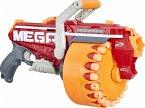 Hasbro Nerf E4217EU5 - Megalodon Nerf N-Strike Mega Blaster mit 20 Nerf Mega Whistler Darts